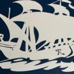 Navy and White Nautical Nursery
