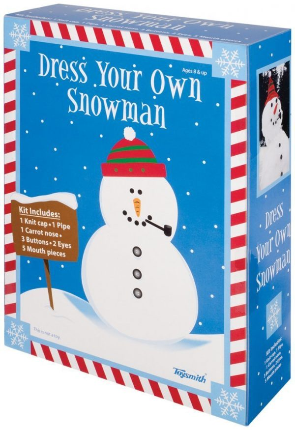 dress your snowman kit