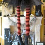 Halloween: Whimsical Witch Legs