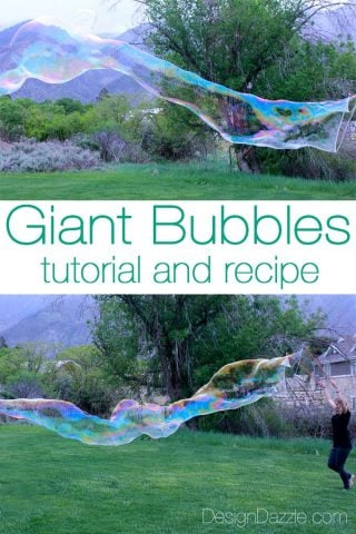 Summer Camp Giant Bubbles Kit Tutorial With Free Printables