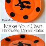 Make Your Own Halloween Dinner Plates