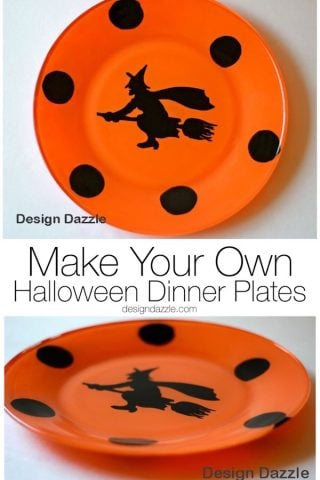 Make Your Own Halloween Dinner Plates