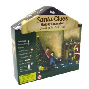 santa clause holiday decoration