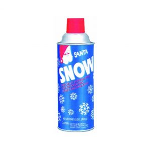 spray snow