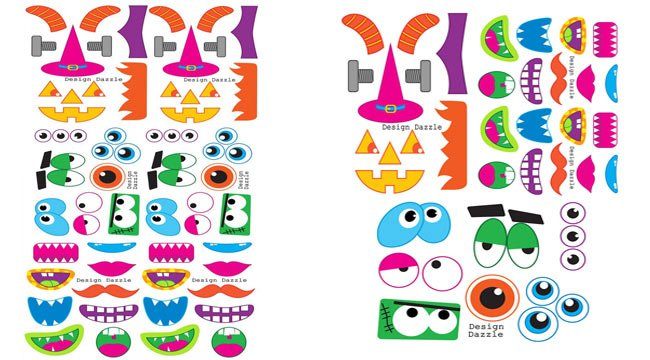 Halloween Monster Printables Free Halloween Monster Faces