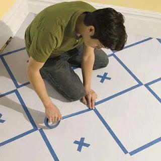 Creative Ideas Paint Your Floor Design Dazzle