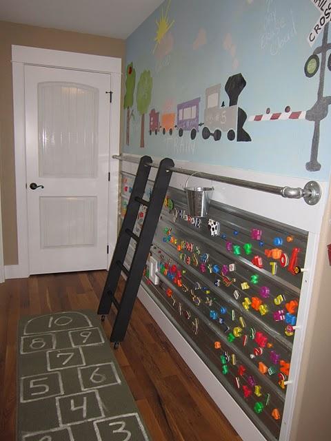 kids activity art wall design dazzle. Black Bedroom Furniture Sets. Home Design Ideas