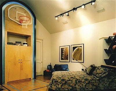 teen basketball court bedroom design dazzle