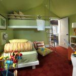 Green Home: Kids Bedroom