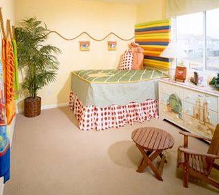 Inexpensive Kids Room Idea