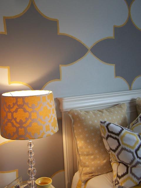 Gray And Yellow Teen Tween Room Design Dazzle