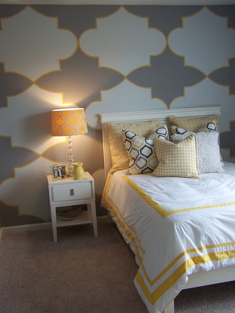 Gray And Yellow Teen Tween Room Design Dazzle