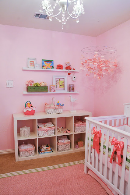 Preppy chic baby nursery design dazzle any do it yourself projects yes i spray painted the dresser mirror which was brought in from another room and the dress solutioingenieria Choice Image