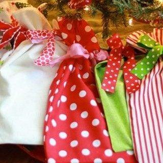 Christmas Book Bags
