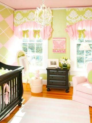 Sweet and Sophisticated Argyle Nursery