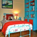 Vintage Boy's Cowboy Room