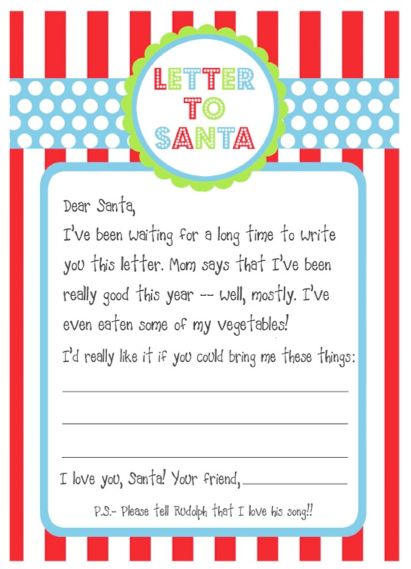 Free printables santa letters design dazzle letters to santa using this amazing letterhead diy letters to santa fun christmas spiritdancerdesigns Images