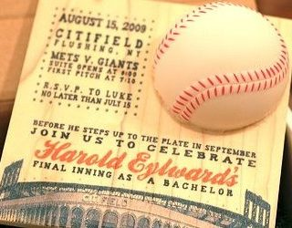 Amazing Baseball Invite