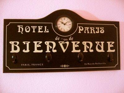 Hotel Paris theme room - Design Dazzle