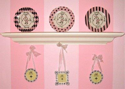 pink paris girls room - Design Dazzle