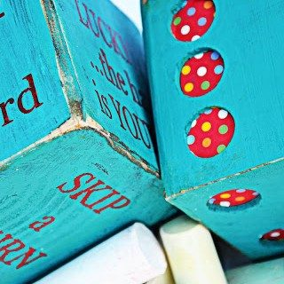 {Summer Camp} Turn YOUR DECK into a BOARD GAME!
