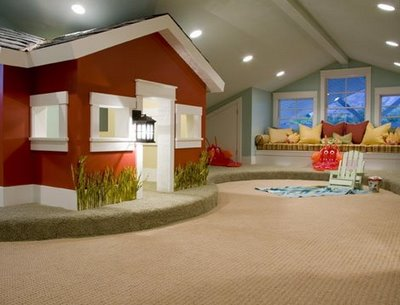 Red paint color for a kids room - Design Dazzle