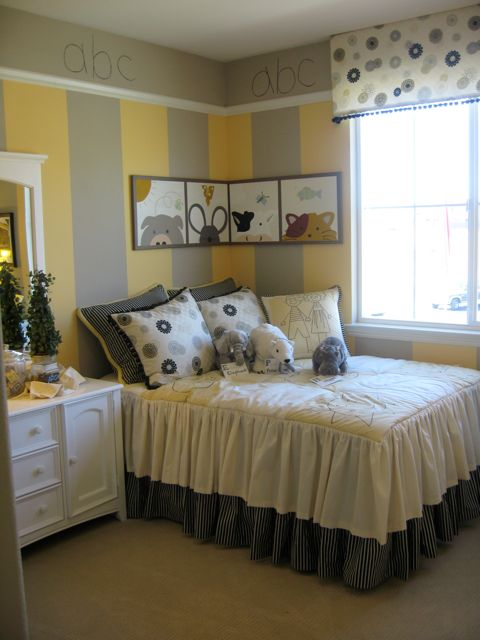 Beautiful ABC Yellow And Gray Room Home Design Ideas