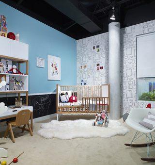 Fun, Modern Toddler Room