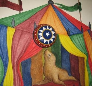 Under The Big Top – Circus Room