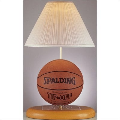 touch table lamp basketball illusion desk detail optical shape product switch