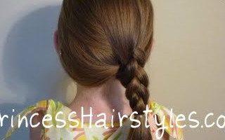 {Summer Camp} 3D Side Braid Hairstyle Tutorial