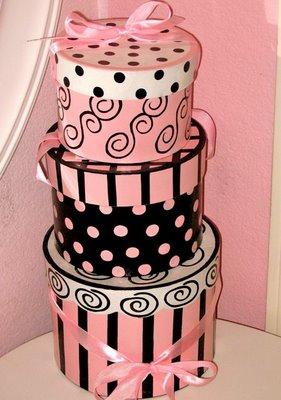 Parisian hat boxes - Design Dazzle