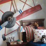 Boys Airplane Room