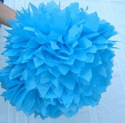 How To Make Pom Tissue Flowers Design Dazzle