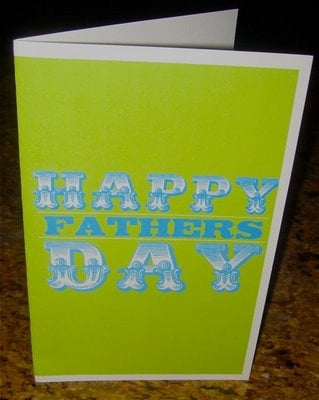 Free Father's Day Card Download
