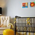 Grey & Yellow Modern Nursery