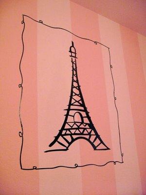 Paris Eiffel Tower decal - Design Dazzle