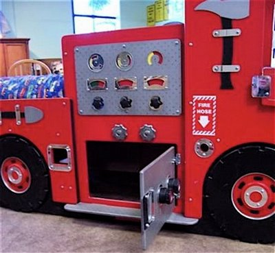 Fire truck bed design dazzle - Fire engine bed plans ...