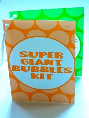 Super Giant Bubbles Kit with free printable - Design Dazzle