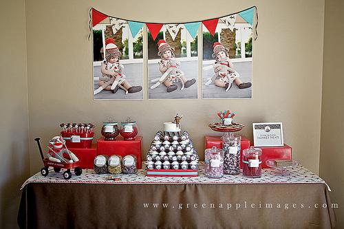 Sock Monkey Party Decoration Ideas Wedding Decor