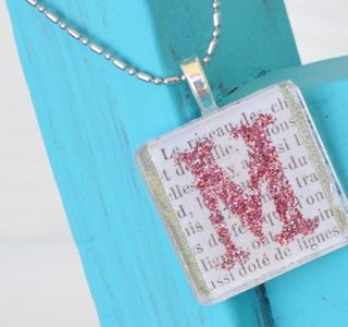 {Summer Camp} DIY Initials Necklace