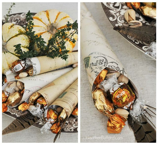 Homemade Thanksgiving Decorations For The Home: DIY: Easy Thanksgiving Favors