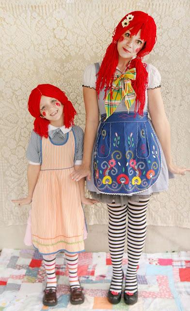 Kids Costume Ideas - Rag Doll
