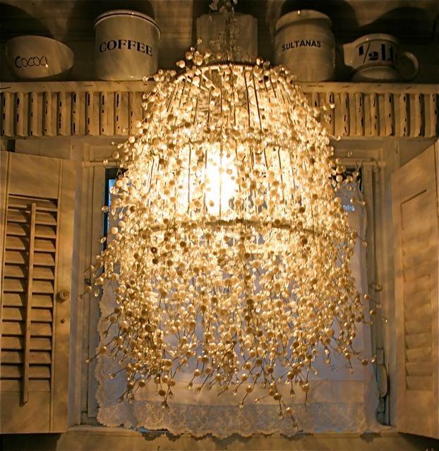 Diy pearl strand lamp design dazzle diy pearl strand lamp aloadofball Images