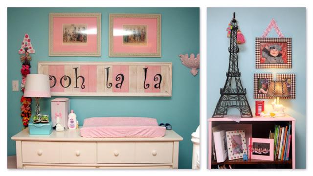 Paris Theme Tiffany Blue Nursery Design Dazzle