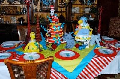 Baby Shower Ideas - Dr. Seuss! - Design Dazzle