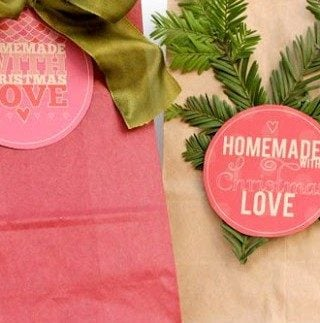 Christmas Printables: How to Create 15 Different Looks From 4 Labels