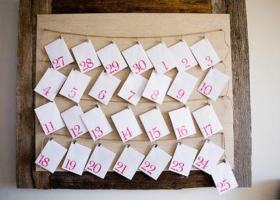 Fun Advent Calendar featured on Design Dazzle
