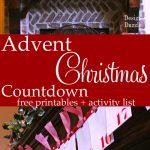 Christmas Wonderful: DIY Advent Calendar & Free Printables