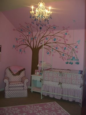 How to Paint Trees in a Kids Room - Design Dazzle